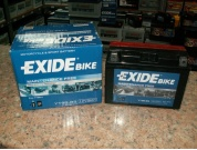 EXIDE BIKE AGM YT9B-BS 12V 8AH 110A